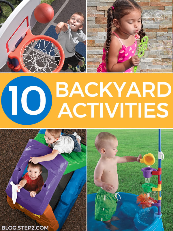 10 backyard activities