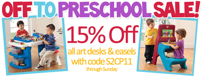 Preschool Sale