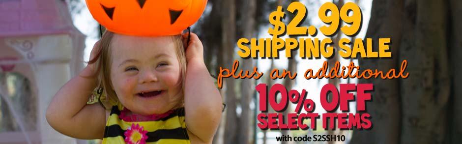 Halloween Shipping Sale