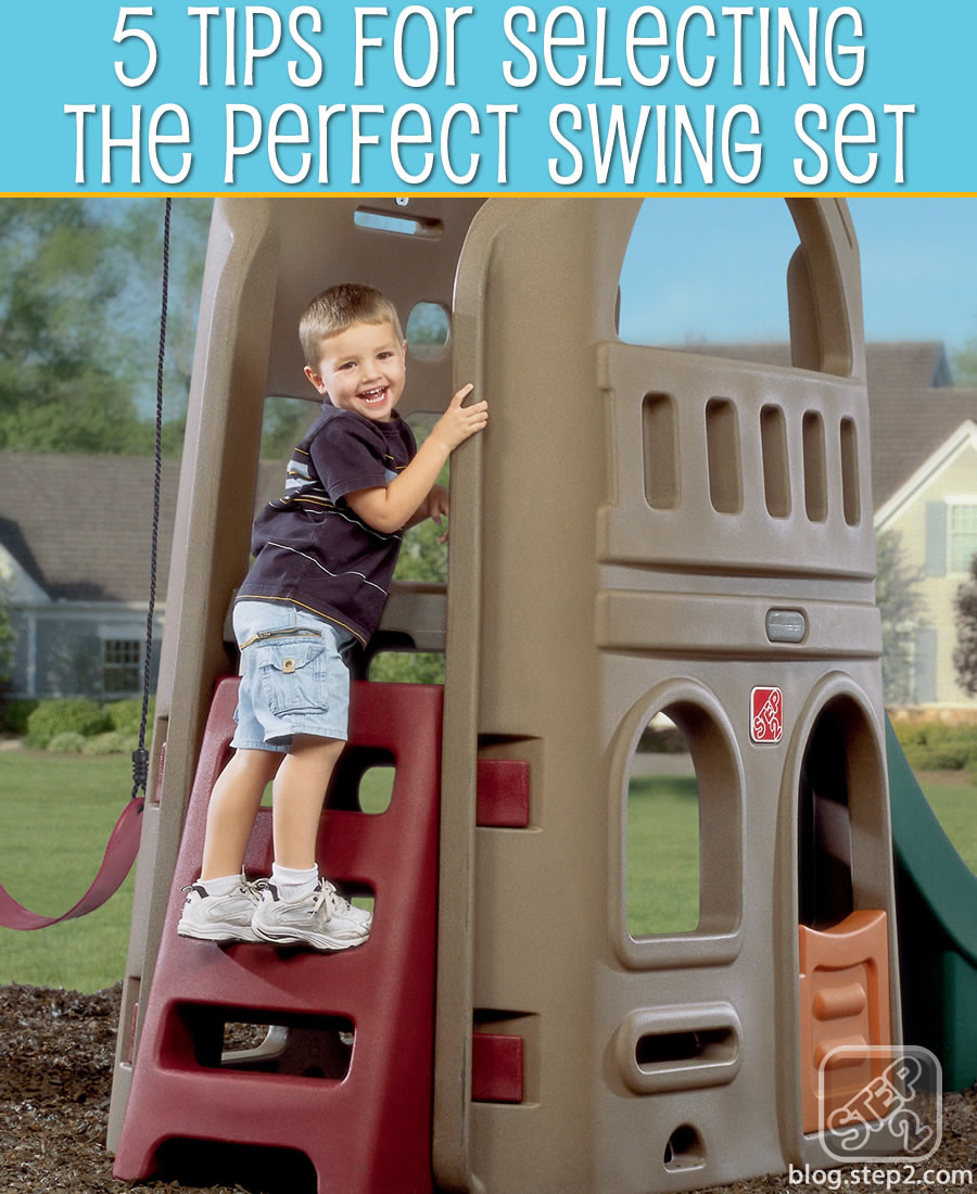 tips for selecting the perfect swing set