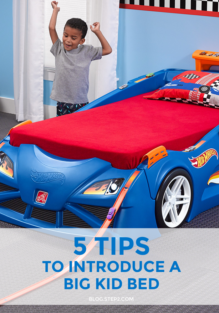 5 Tips to Introduce a Big Kid Bed | Tips on the Step2 Blog