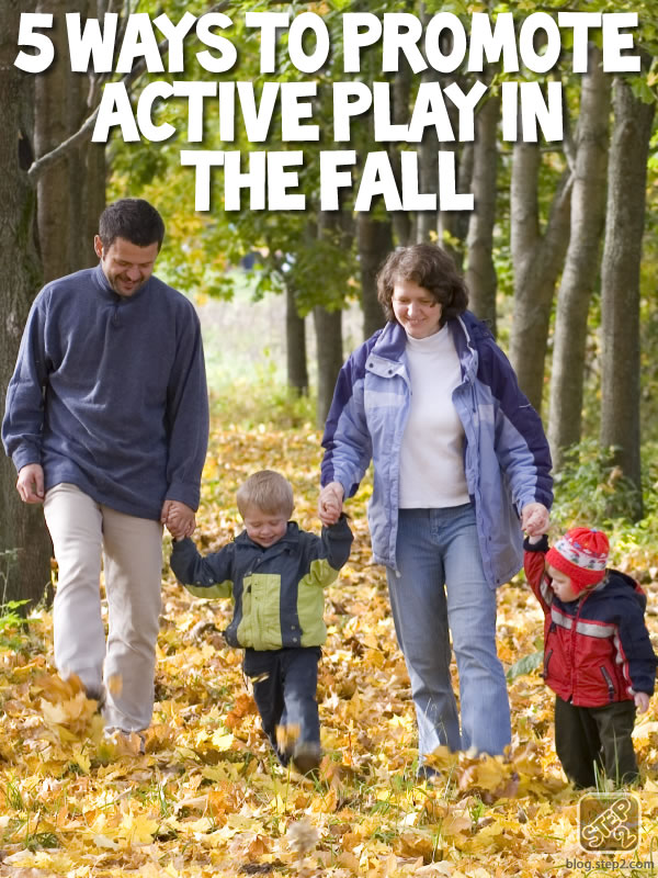 5 ways to promote active play in the fall