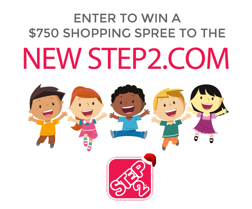 Enter to win a $750 shopping spree to Step2.com