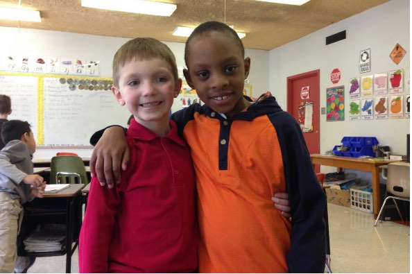 7yo-boy-with-friend-GoFundMe-