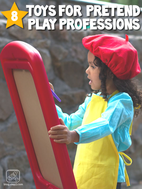 8 toys for pretend play professions