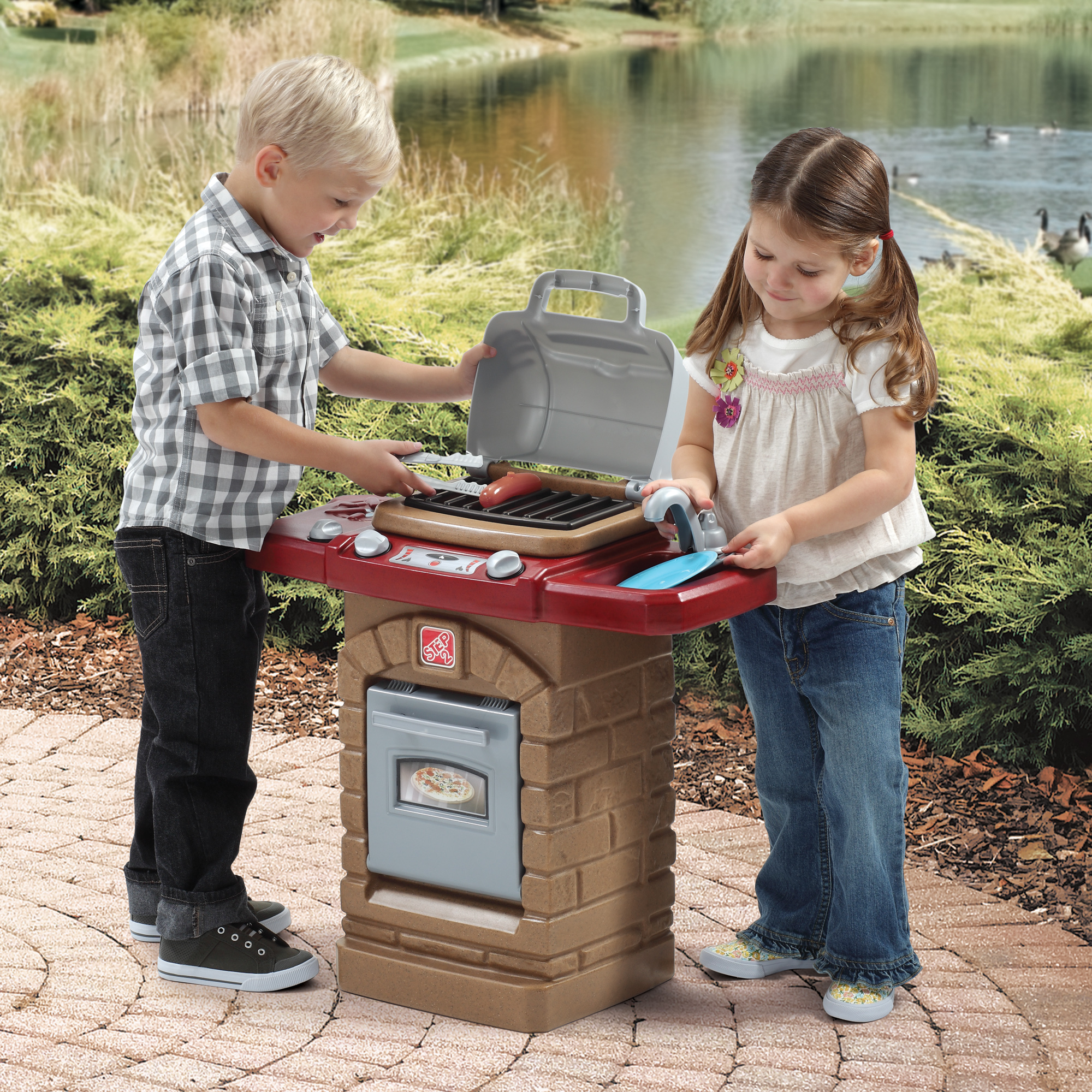 Fixin' Fun Outdoor Grill