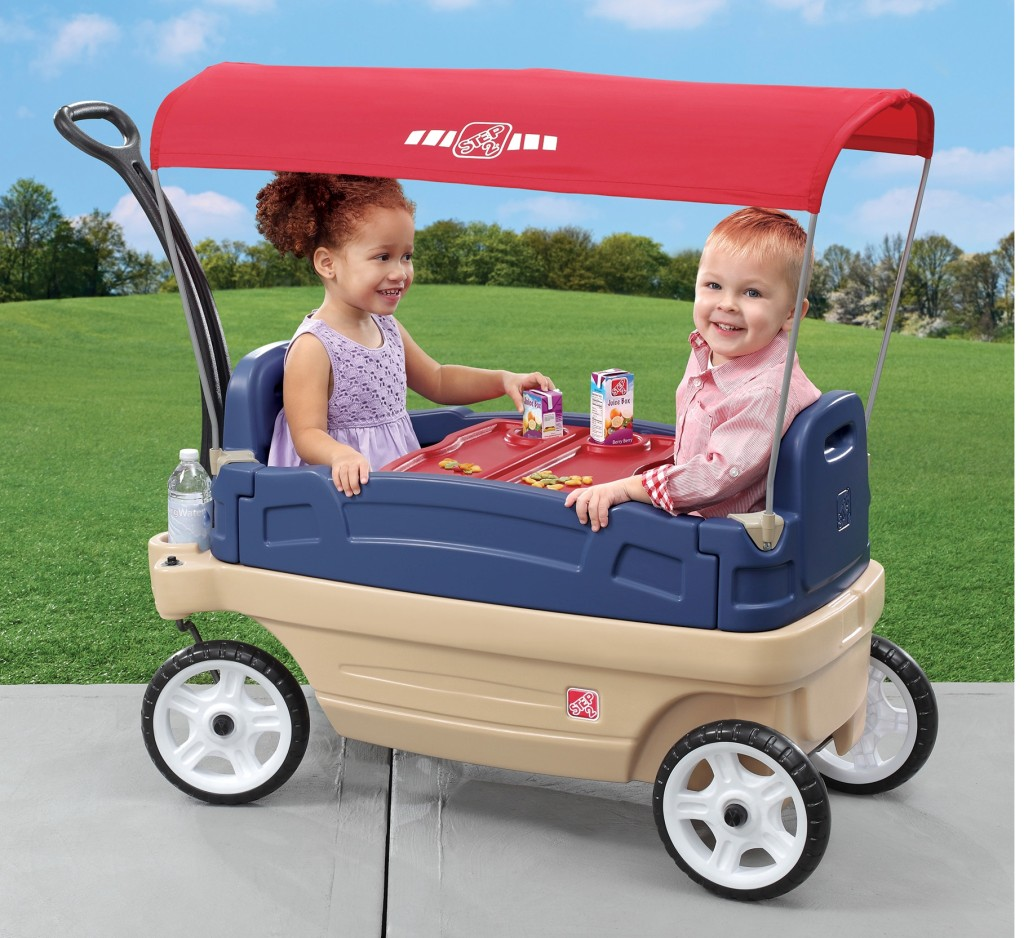 kid's wagon ride