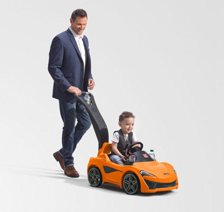 Step2 McLaren 570S Push Sports Car for Kids