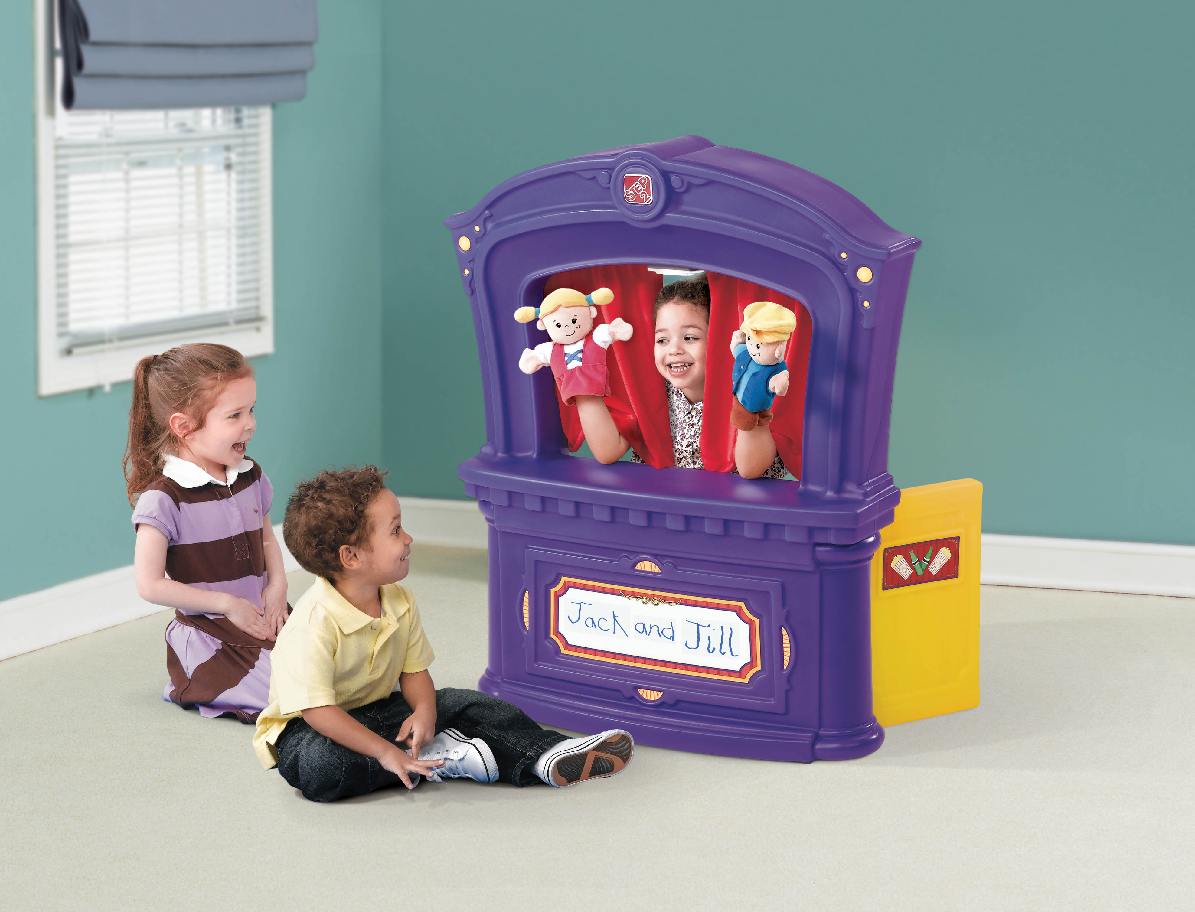 how to play puppet show