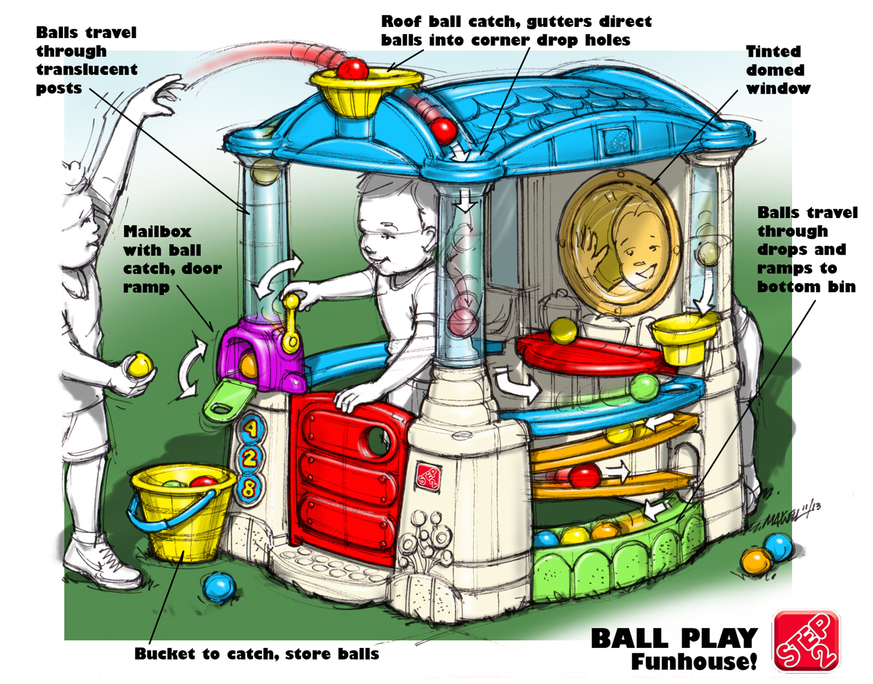 Ball Play Funhouse