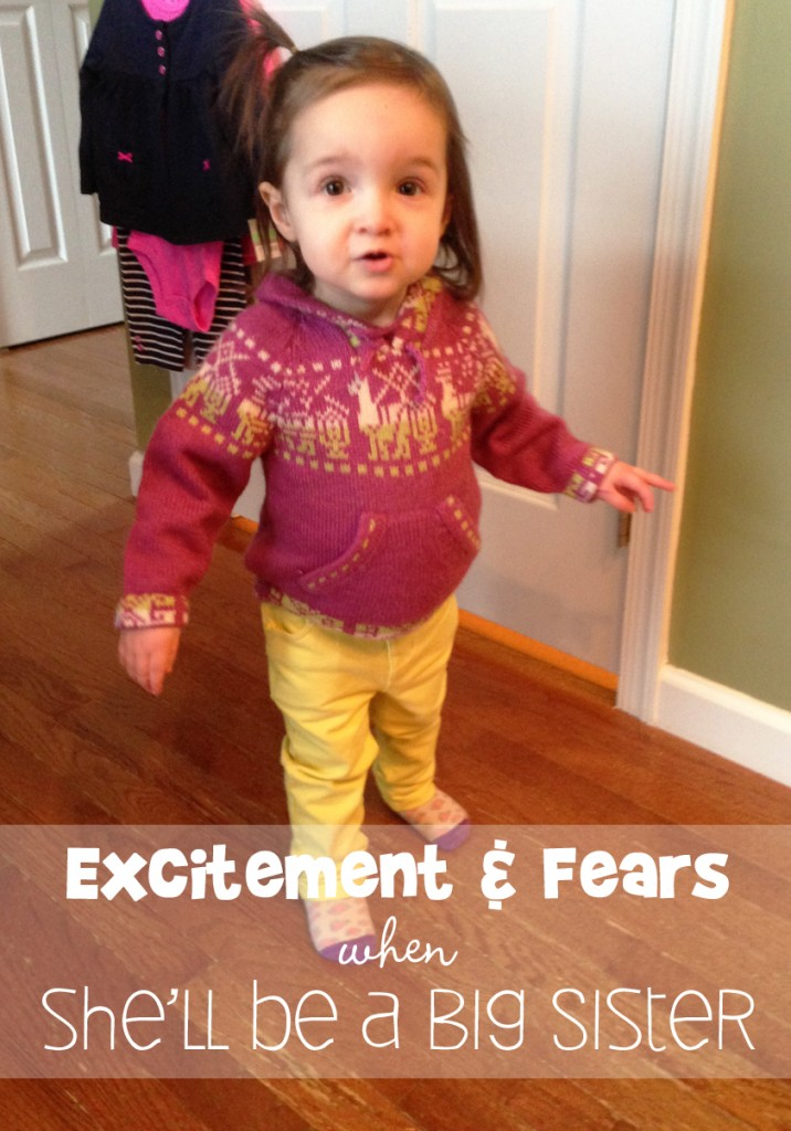 Excitement and fears when you find out you're having another baby