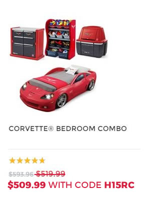 CORVETTE BEDROOM COMBO