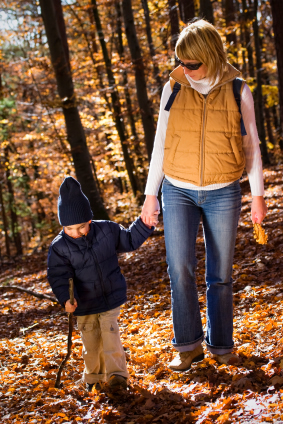Child & Mother in Nature - istock