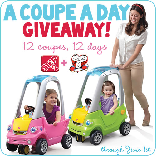 Easy Turn Coupe Giveaway
