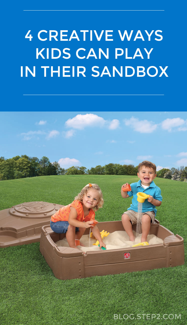 4 Creative Ways Kids Can Play in their Sandbox - Play Tips and More from Step2 Blog