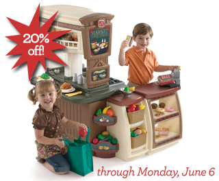 Fresh Market Kitchen on Sale