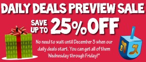 Deal of the Day Preview