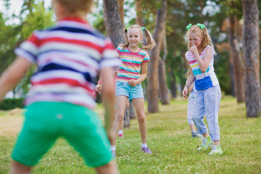 outdoor fitness games for kids kick the can