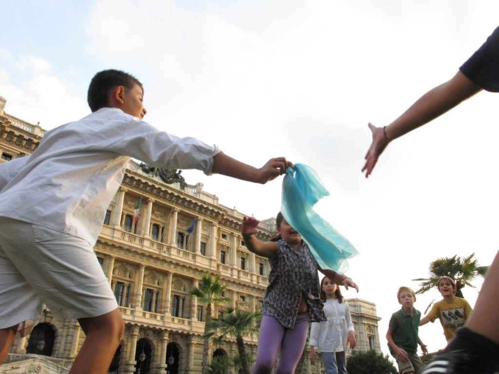 outdoor fitness games for kids capture the flag