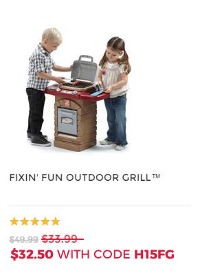 FIXIN FUN OUTDOOR GRILL