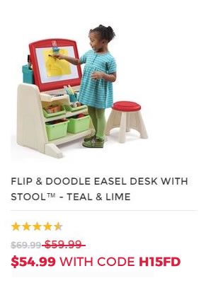 FLIP & DOODLE ART EASEL