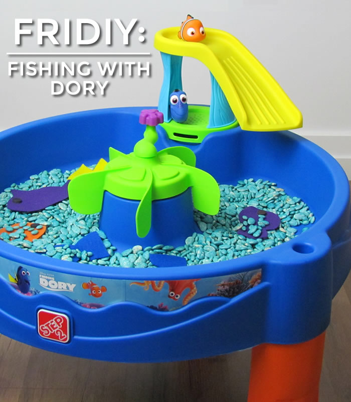 Finding Dory DIY: Step2 Blog