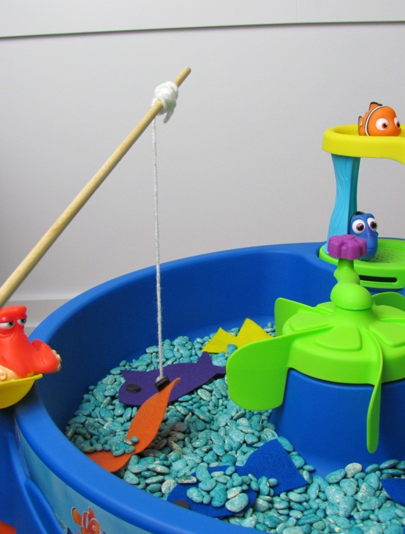 Fishing with Dory | Finding Dory craft on the Step2 Blog