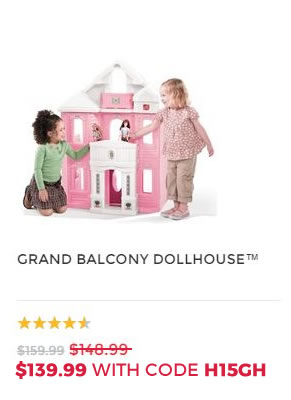 GRAND BALCONY DOLL HOUSE