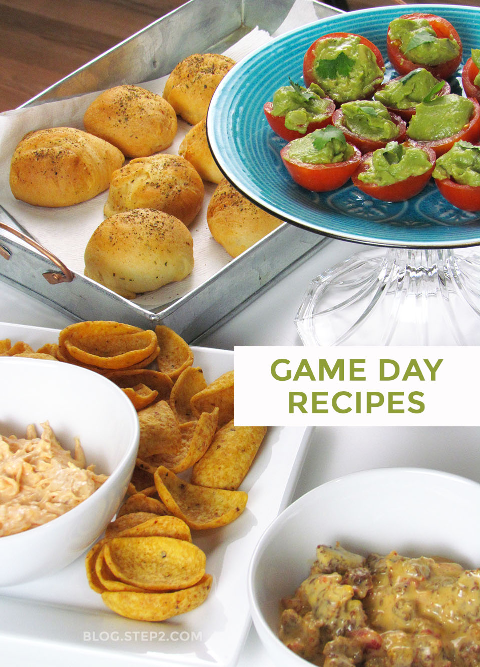 Game Day Super Bowl Party Recipes | Tips from the Step2 Blog