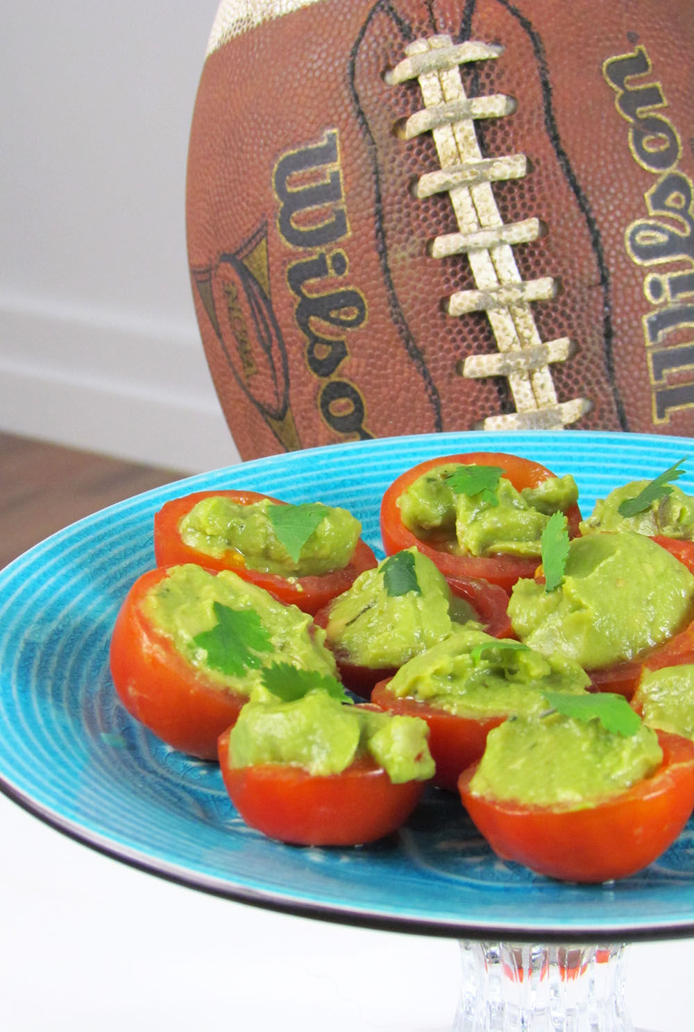 Guacamole Stuffed Tomatoes | Tips on the Step2 Blog