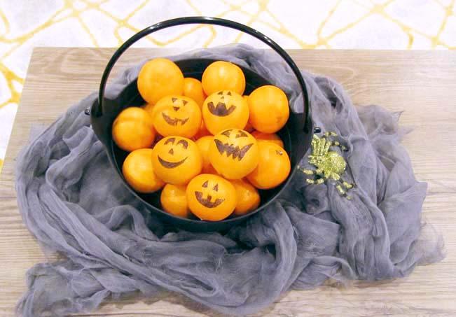 Halloween Cutie Pumpkins - Allergy-friendly treats