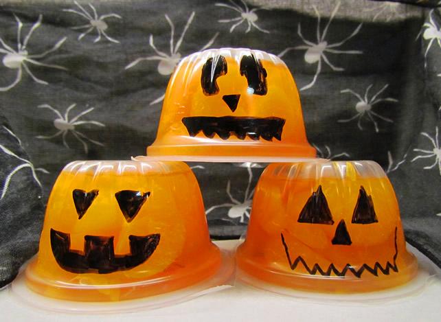 Mandarin Orange Pumpkin Cups