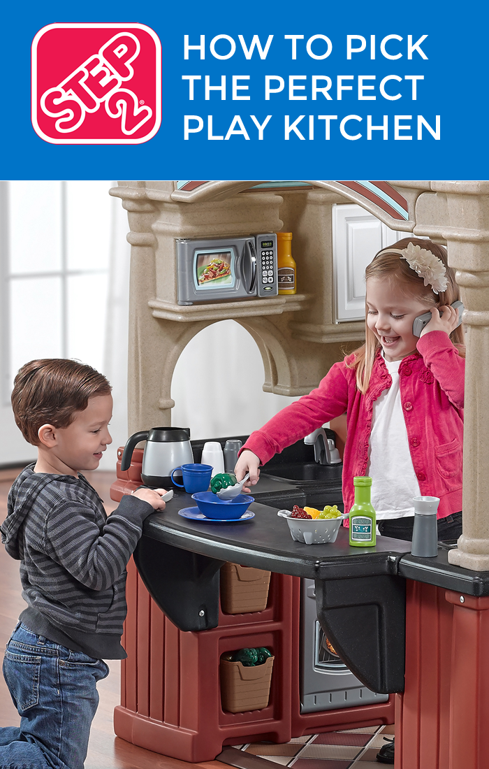 Hot to pick the perfect play kitchen for your toddler | Tips & Tricks on the Step2 Blog