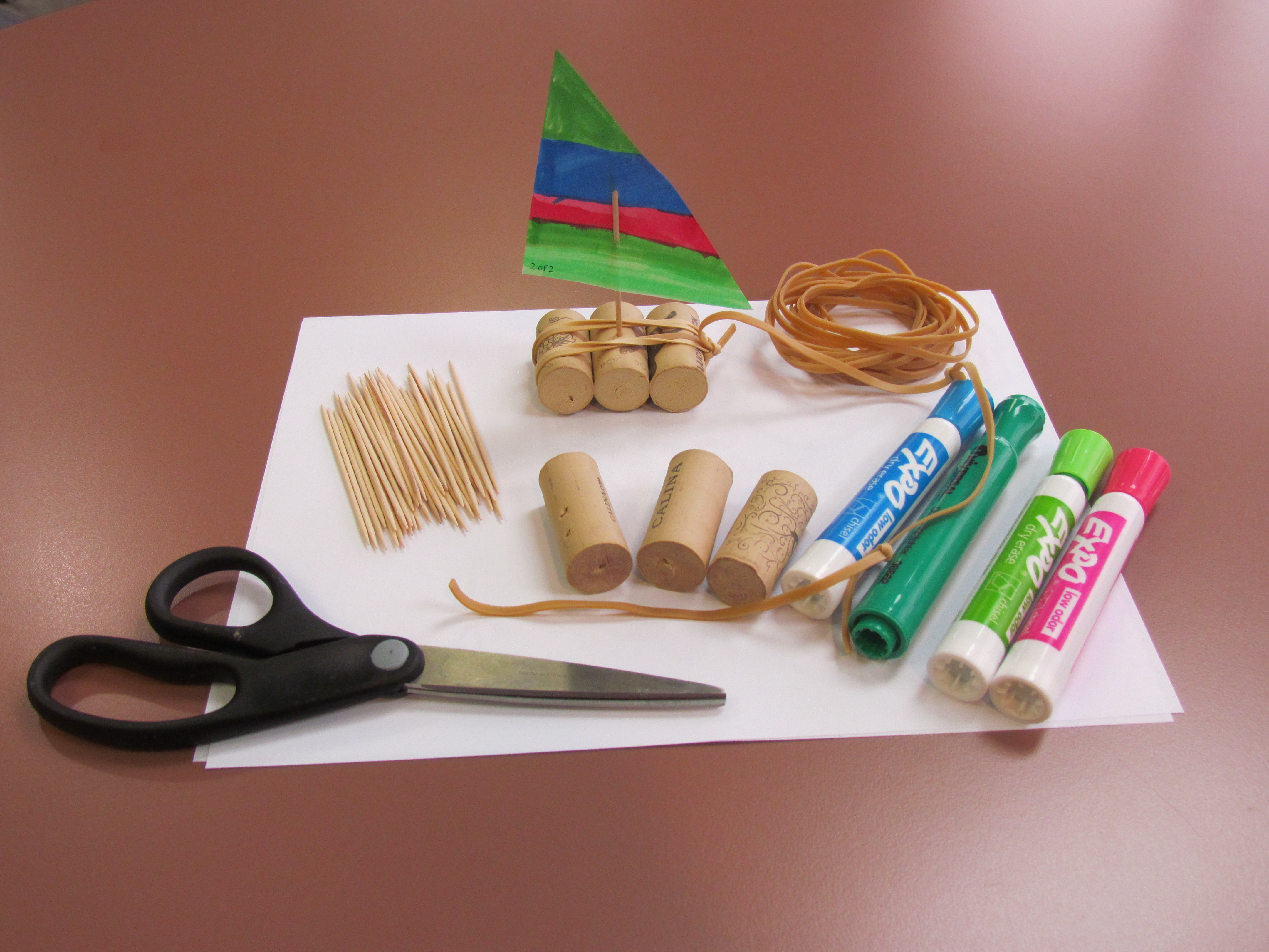 toy boat craft supplies