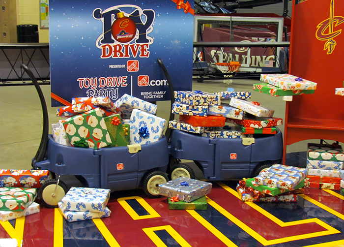 Cavs Toy Party