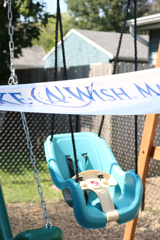 Backyard Discovery Skyfort II with Step2 Infant-to-Toddler Swing - Make-A-Wish® Ohio, Kentucky & Indiana