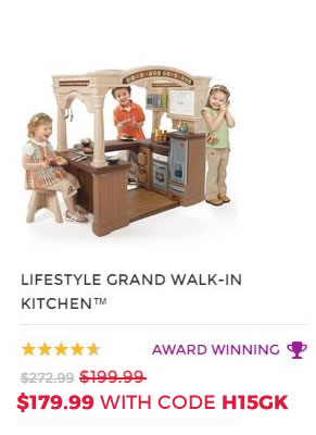 LIFESTYLE GRAND WALK IN KITCHEN