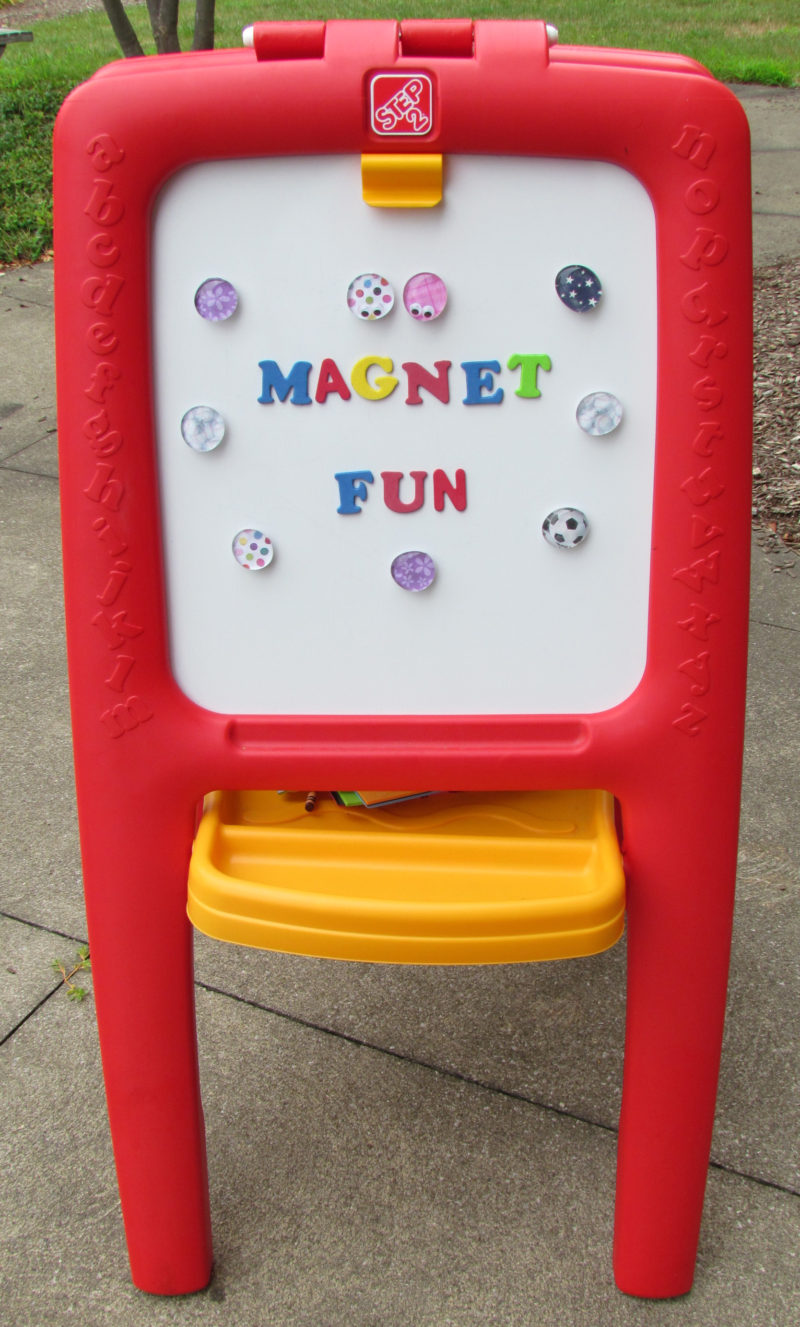 Magnet Fun! Create your own magnets with a few supplies to proudly display your kid's artwork! Tips & more from Step2