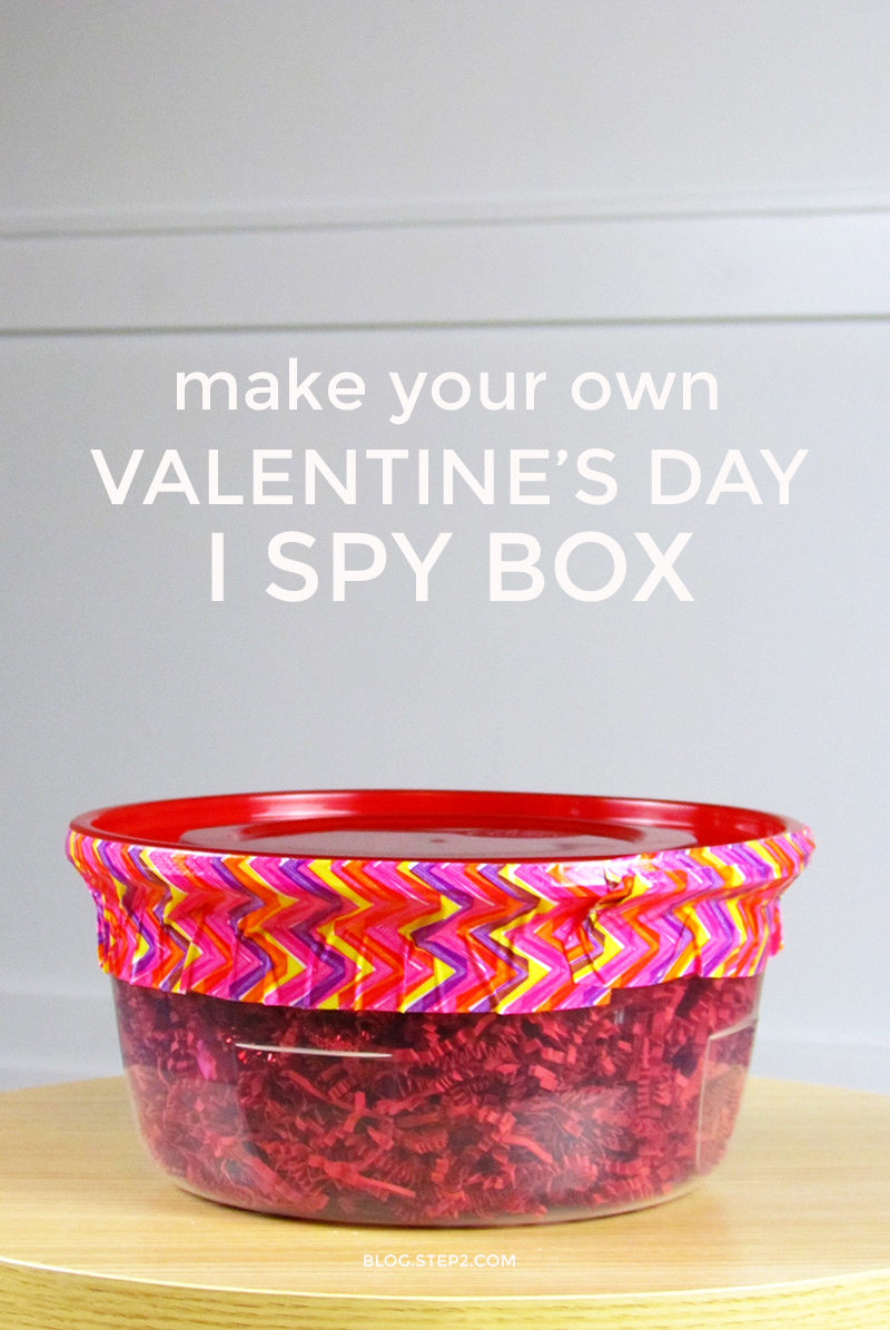 Make Your Own Valentines Day I Spy Box | Step2 Blog