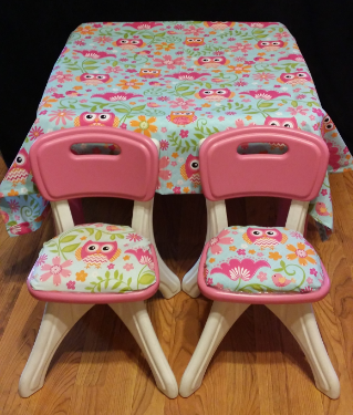 Owl Table and Chairs