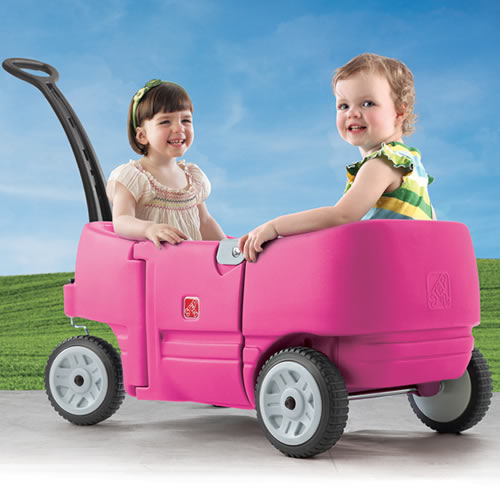 Pink Wagon for Two