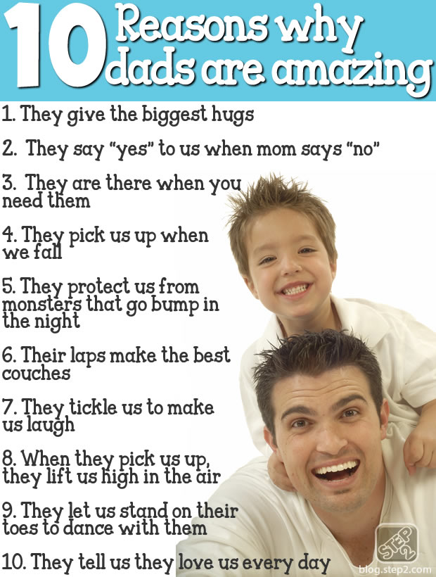 Why Dads are Amazing