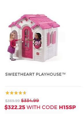 SWEETHEART PLAYHOUSE