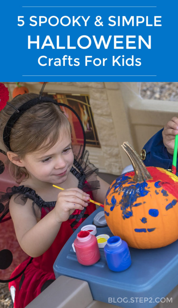 Spooky & Simple Halloween Crafts for Kids