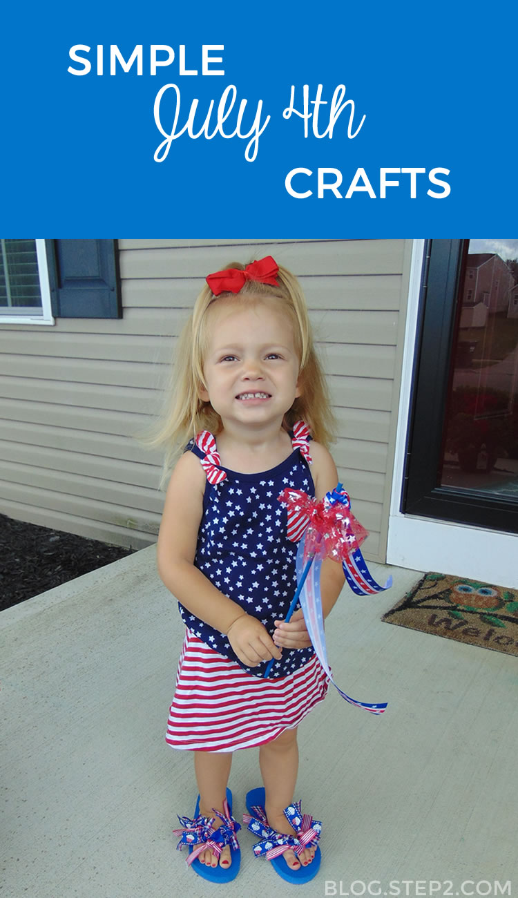 You'll love these simple July 4th crafts!