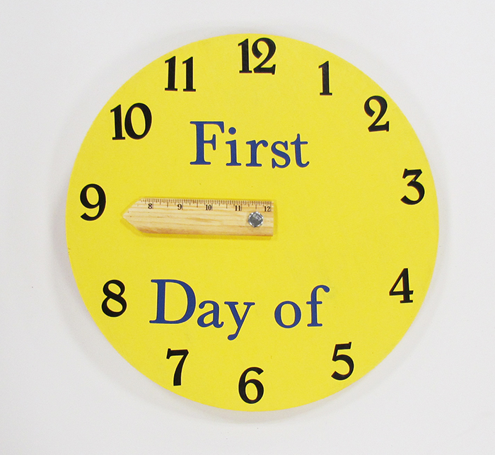 Tick tock, it's time for the first day of school!