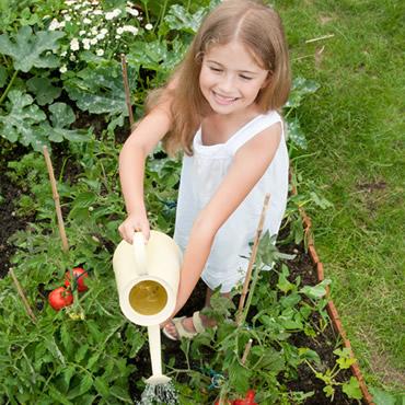 Teach your kids to love gardening!