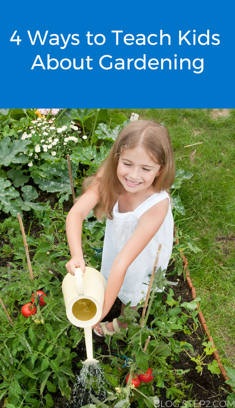 Check out these tips on how to teach your kids about gardening!