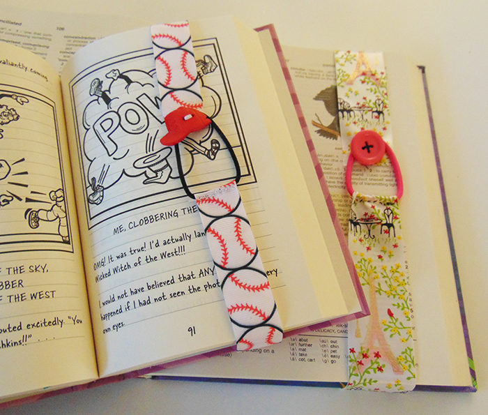 Ribbon bookmarks for all your summer reading!