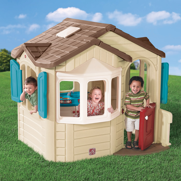 Welcome Home Playhouse is great for imaginative play!